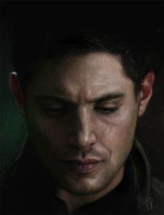 Jensen Ackles as Dean Winchester from Supernatural. Fan Art.