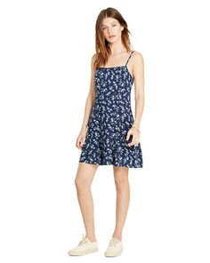 Floral Open-Back Slip Dress - Denim & Supply Short Dresses - RalphLauren.com
