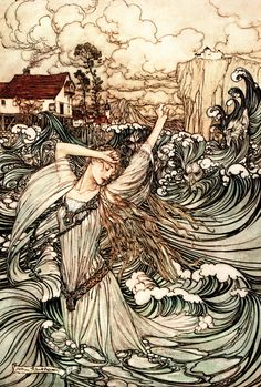 'Undine' – Illustrated by Arthur Rackham http://www.amazon.com/gp/product/1445505975/ref=as_li_tl?ie=UTF8&camp=1789&creative=9325&creativeASIN=1445505975&linkCode=as2&tag=reaboo09-20&linkId=RSCG4G65MB2XE2EW