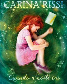 Capa oficial do novo livro da autora Carina Rissi: Quando a Noite Cai.