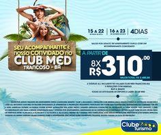 Essa imagem está disponível apenas para consulta do modelo. A imagem servem de referência para fraqueados Clube Turismo solicitarem a sua atualização. ESTA OFERTA NÃO É VÁLIDA. --------------------------------  Novo pacote no ar. E agora, seu acompanhante é nosso convidado no Club Med Trancoso-BA!   ⚫ 4 diárias All Inclusive no Village Club Med Trancoso-BA; ⚫ 3 refeições com bebidas; ⚫ Bar & snack;   ⚫ Todas as atividades de esporte e lazer  Club Med.