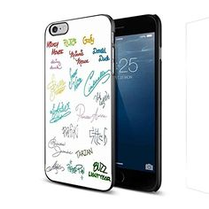 All Disney Character Signatures for Iphone and Samsung (iPhone 6 Black)
