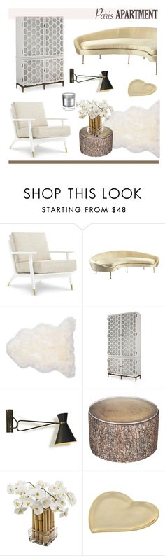 """""""#ParisApartment"""" by hellodollface ❤ liked on Polyvore featuring interior, interiors, interior design, home, home decor, interior decorating, Sia, Lunares, D.L. & Co. and parisapartment"""