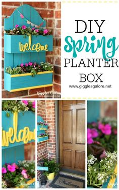 DIY Spring Planter Box - MichaelsMakers Giggles Galore