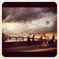 Ponte Vecchio Italy in #Bike