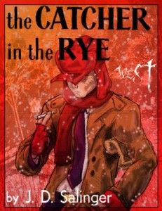 """The Catcher in the Rye by J.Salinger Details the two days in the life of Holden Caulfield after he has been expelled from prep school. Confused and disillusioned, he searches for truth and rails against the """"phoniness"""" of the adult world. Holden Caulfield, Books To Read, My Books, Catcher In The Rye, This Is A Book, Book Jacket, Coming Of Age, Great Books, Book Worms"""