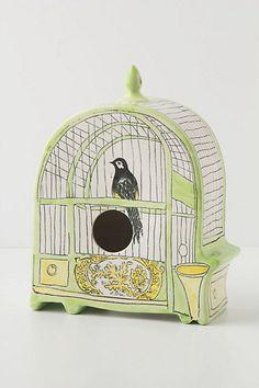 Trompe L'Oiel Birdhouse