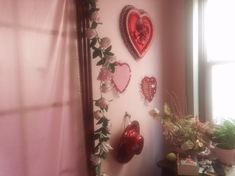 Uploaded by My pink world. Find images and videos about pink, aesthetic and red on We Heart It - the app to get lost in what you love. Aesthetic Room Decor, Red Aesthetic, Valentine Love, Valentines, My New Room, My Room, Polly Pocket, Pink Room, Dream Bedroom