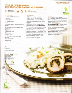 Revista bimby pt-s02-0036 - novembro 2013 Happy Foods, Food Inspiration, Foodies, Nom Nom, Recipies, Paleo, Food And Drink, Low Carb, Yummy Food