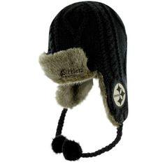 pretty nice c3f7f 2d9ae  47 Brand Pittsburgh Steelers Ladies Bunny Slope Trooper Hat - Black.