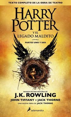 Harry Potter and the Cursed Child is a two-part West End stage play written by Jack Thorne and based on an original new story by Thorne, J.K. Rowling, and John Tiffany