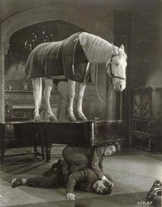 "Stan Laurel & Oliver Hardy in ""Wrong Again"" (1929, dir. Leo McCarey)"