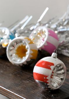 Fun for Your Fir Ornament Set (These remind me of my grandma's old Christmas ornaments.)  http://www.modcloth.com/shop/decorative-accessories/fun-for-your-fir-ornament-set#
