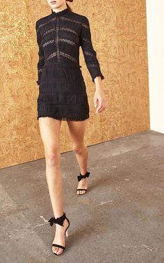Kitty Pleated Mini Dress by ULLA JOHNSON for Preorder on Moda Operandi