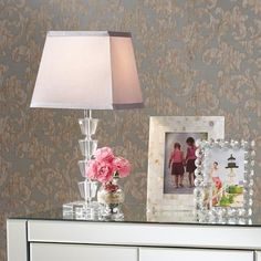 Deco Collection Moderne Crystal Table Lamp