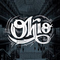 Type by Nick Matej. Cleveland Arcade: The Arcade in downtown Cleveland, Ohio, is a Victorian-era structure of two nine-story buildings, joined by a five-story arcade with a glass skylight spanning over 300 feet, along the four balconies. Typography Love, Vintage Typography, Typography Letters, Typography Inspiration, Graphic Design Typography, Lettering Design, Graphic Design Illustration, Creative Lettering, Logo Design