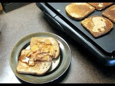 Healthy Tip: Savory Apple Cinnamon French Toast with Egg Whites Recipe