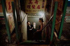 Wong Kar-wai Inspired Portraits in NYC shot on 34mm Film