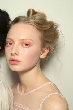Bora Aksu[/link], Altuzarra and Simone Rocha, a wash of prettiest pink gave a rose-like flush to cheeks, eyes and lips on the catwalk. Sheer coverage, soft shades and delicate application made for an ethereal beauty which felt utterly modern yet completely wearable at once.
