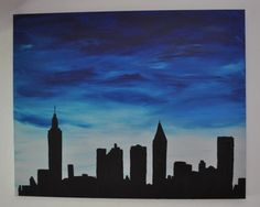 Blue Lips, Twitter, New York Skyline, Ipad, Painting, Travel, Pictures, Voyage, Painting Art