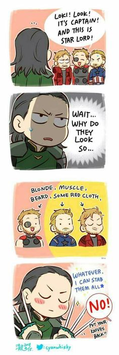 Thor is wrong it supposed to be star Lord and captain