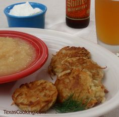 Potato Pancakes Recipe (German food in Texas)