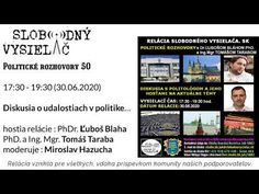 Politické rozhovory 50 - YouTube Youtube, Youtubers, Youtube Movies