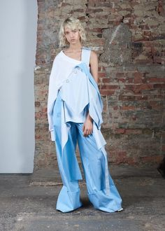 The denim junkie, fine artist, and former J.W. Anderson draping expert talks us through her third collection at New York Fashion Week.