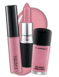 My favorite color since I was a little girl. dusty pink...M A C