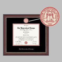 Signature Announcements Francis-Marion-University Undergraduate Name /& Tassel Graduation Diploma Frame 23 x 24 Cherry Doctorate Sculpted Foil Seal