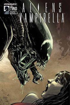 Aliens Vampirella (2015) Issue #2