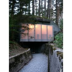 Reuse of an old military construction. Atelier-f, Switzerland. - Livegreen Blog