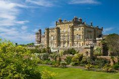 Garden of the Culzean Castle, Scotland