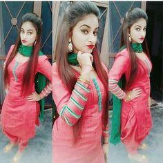 Dpz for girls Punjabi Salwar Suits, Punjabi Dress, Designer Punjabi Suits, Indian Designer Wear, Patiala, Churidar, Indian Suits, Indian Dresses, Indian Wear