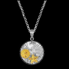 For Everything Genealogy - Undersea Marine Black Crystal Oval 14K Gold Accent Sterling Silver Pendant, $170.00 (http://www.foreverythinggenealogy.com.au/undersea-marine-black-crystal-oval-14k-gold-accent-sterling-silver-pendant/)