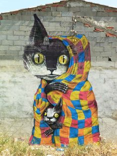"Fanzara, Spain: ""MIAU"" Marries Street Art & Cats, Breaks Internet : Brooklyn Street Art http://www.brooklynstreetart.com/theblog/2015/08/13/fanzara-spain-miau-marries-street-art-with-adorable-cats-breaks-internet/?utm_content=buffer3b7c3&utm_medium=social&utm_source=pinterest.com&utm_campaign=buffer#.VcyjlvlJbIU"