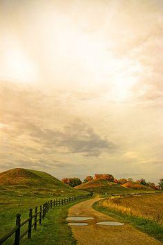 Uppsala, Sweden, viking mounds. Beautiful #Scandinavia :) #travel & explore!