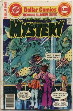 Neal Adams  House of Mystery #254  1977