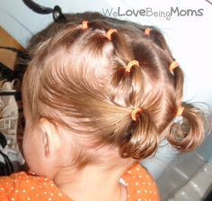 Lots of hairstyle variations for toddler hair