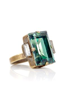 Cato Ring In Teal