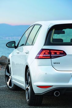 Golf Mk7 GTi White. My current car. Probably the best one I've had yet!