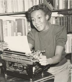 Chicago History in Pictures, An undated photograph of author Gwendolyn Brooks...