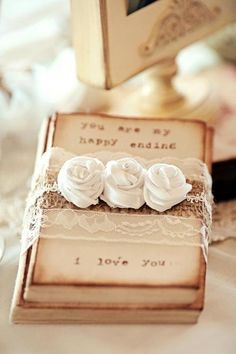 Romantic ideas... for gifts, scrapbooking projects, decor and cards.