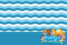 Making My Party!: Bubble Guppies - Complete Kit with frames for invitations, labels for goodies, souvenirs and pictures!