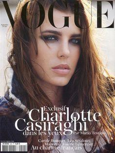 Charlotte Casiraghi en couverture de Vogue 58