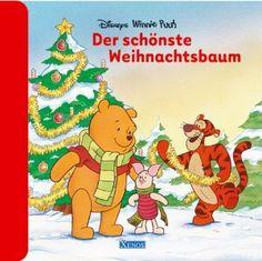 """20 Seiten, Pappbilderbuch """"Disney Winnie Puuh - Der schönste Weihnachtsbaum"""""""
