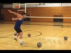 This video is about how to spike a volleyball with better timing. Timing your spiking approach with a setter is very difficult and this video provides some t. Spike Volleyball, Volleyball Gifs, Volleyball Skills, Volleyball Practice, Volleyball Training, Volleyball Workouts, Coaching Volleyball, Volleyball Pictures, Volleyball Players