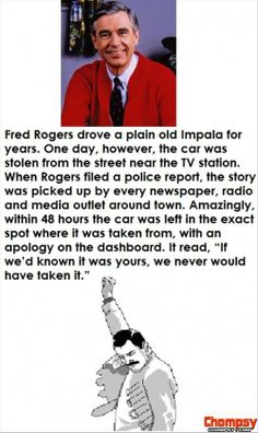 nobody messes with Mr  Rogers