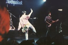 Morrissey and Johnny Marr: The Smiths at Markthalle, Hamburg, Germany on May 4,1984. This concert was filmed and broadcast on the German television show 'Rockpalast'.