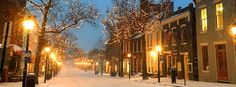 Old Town  Blizzard January 201